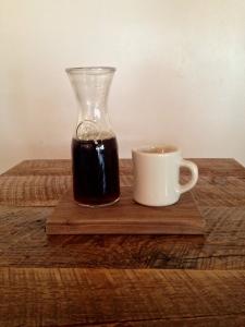 Afternoon cup of joe