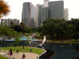 KL is pretty cool - it has dolphins that magically jump out of shallow water!
