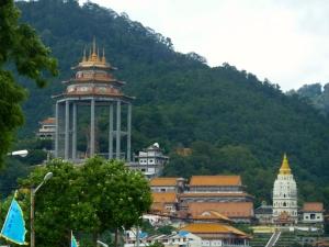 Looking at Penang Hill
