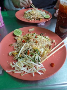 Pad Thai - One of the most delicious things I have eaten since arriving in Southeast Asia