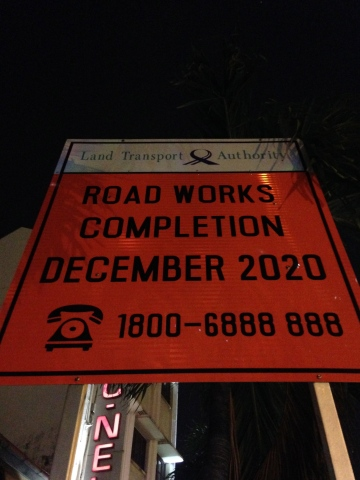 Nothing like planning ahead - good work, Singapore. Worse comes to worse, you finish early and surprise everyone!
