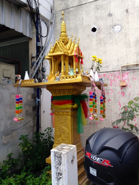 Shrine on the street