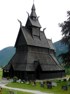 Not a temple! A stave church!