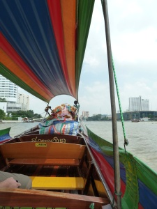 We took as mall water taxi to get to Wat Arun, which is an experience I think everyone should have