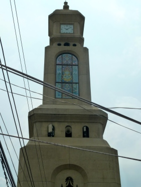 The clock tower at Chatuchak Weekend Market. Not only is it iconic, but it's also a useful orientation tool.