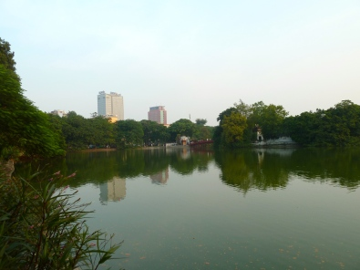 Hoan Kiem Lake by day