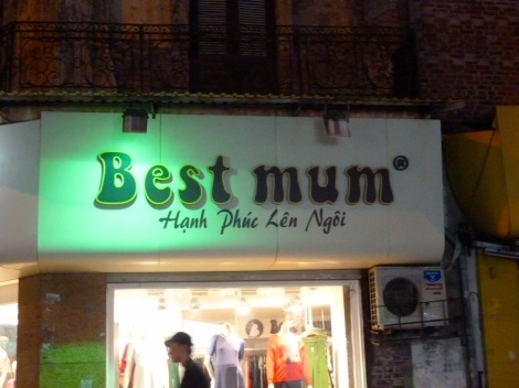 Cutest name for a maternity store