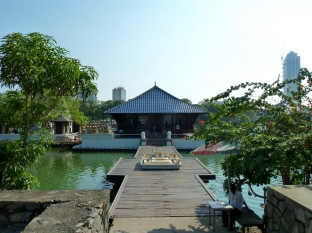 I didn't go inside the temple (rare for me, I know) but enjoyed looking at it as I walked around the lake.