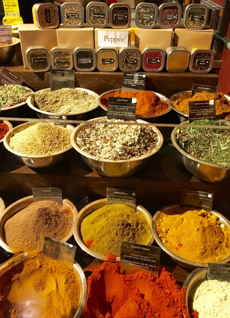 This spice and tea shop smelled so delicious. I wanted all of them. And I now know where to get all the Asian spices I can't find in the grocery store!